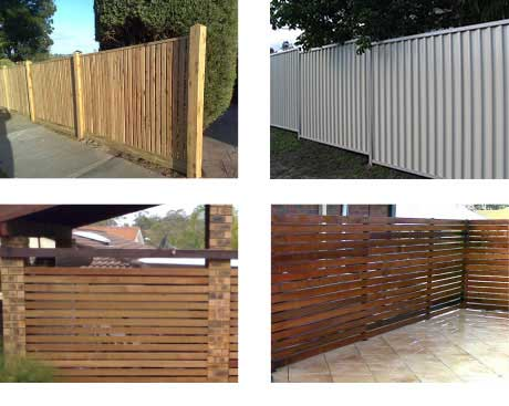 Timber Fencing Home